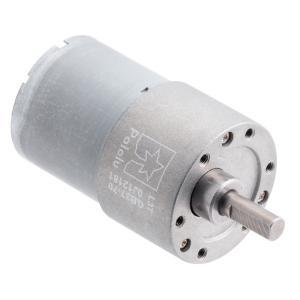 Pololu 70:1 12V金属ギヤードモータ 37Dx54L mm (ヘリカルピニオン版)|suzakulab