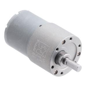 Pololu 100:1 12V金属ギヤードモータ 37Dx57L mm (ヘリカルピニオン版)|suzakulab