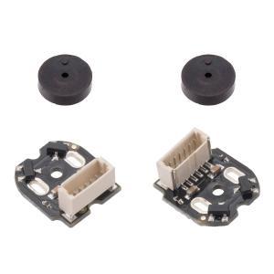 Pololu 金属マイクロギヤードモータ用磁気エンコーダキット 垂直コネクタ付 12CPR 2.7V-18V 2個入り suzakulab