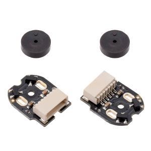 Pololu 金属マイクロギヤードモータ用磁気エンコーダキット 水平コネクタ付 12CPR 2.7V-18V 2個入り|suzakulab