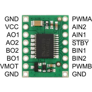 Pololu TB6612FNGデュアルモータドライバ|suzakulab|02