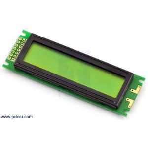 Pololu LCDキャラクタディスプレイ 16x2行 (パラレル通信)|suzakulab