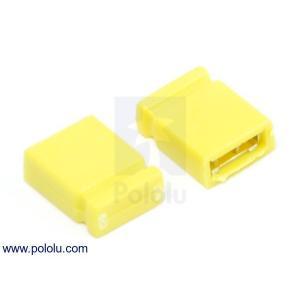 Pololu 0.1インチ (2.54 mm) ジャンパーピン 黄