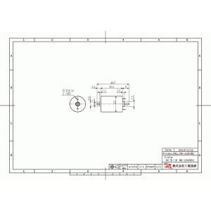 小型DCモータ 22mm 両軸仕様|suzakulab|02