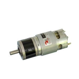 小型DCギヤードモータ RS-775GM004-METAL-D Dカット軸・初段金属ギヤ仕様|suzakulab
