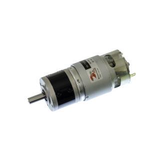 小型DCギヤードモータ RS-775GM004-METAL-R 丸軸・初段金属ギヤ仕様|suzakulab