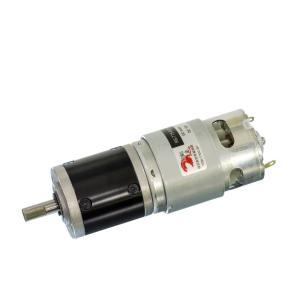 小型DCギヤードモータ RS-775GM061-METAL-D Dカット軸・初段金属ギヤ仕様|suzakulab