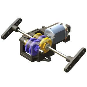 タミヤ シングルギヤボックス (4速タイプ)|suzakulab