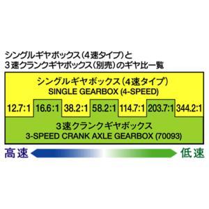 タミヤ シングルギヤボックス (4速タイプ)|suzakulab|04