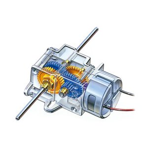 タミヤ エコモーターギヤボックス (3速タイプ)|suzakulab