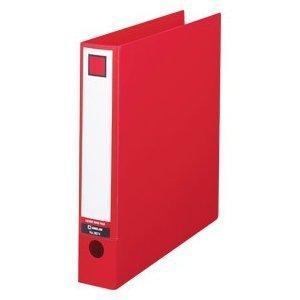アウトレット キングジム KING JIM レバーリングファイル A4 タテ型 3674 赤 アカ 新品未使用品ですが中古扱い|suzion-line