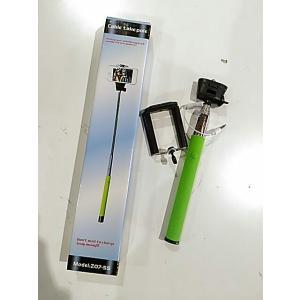 アウトレット 新品未使用品ですが中古扱い 自撮り棒 Z07-6S GREEN スマホ カメラ ポイント消化|suzion-line