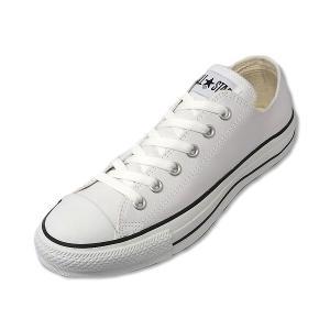 コンバース レザー オールスター ローカット CONVERSE LEA ALL STAR OX  WHT ホワイト メンズ レディース スニーカー|suzuchu-footwear