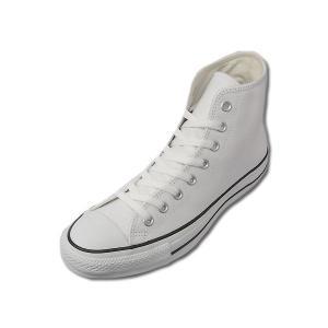 コンバース レザー オールスター ハイカット CONVERSE LEA ALL STAR  HI WHT ホワイト メンズ レディース スニーカー|suzuchu-footwear