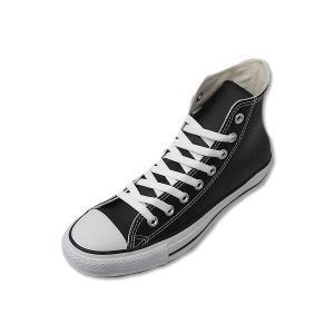 コンバース レザー オールスター ハイカット CONVERSE LEA ALL STAR  HI BLK ブラック メンズ レディース スニーカー|suzuchu-footwear