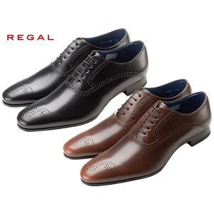 リーガル 靴 メンズ 正規品 REGAL 24GR BB プレーントゥ メダリオン|suzuchu-footwear