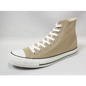 コンバース キャンバス オールスター カラーズ ハイカット CONVERSE CANVAS ALL STAR COLORS HI BEIGE ベージュ メンズ レディース スニーカー 人気 シューズ|suzuchu-footwear