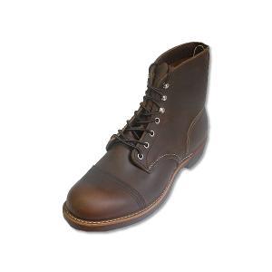 レッドウィング アイアンレンジ ブーツ REDWING 8111 IRON RANGE BOOTS Amber Harness|suzuchu-footwear