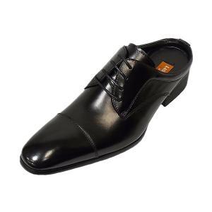 オフィスサンダル ラスアンドフリス LASSU&FRISS 915 BLK ブラック ストレートチップ 本革 ビジネスサンダル|suzuchu-footwear