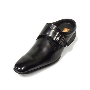 オフィスサンダル ラスアンドフリス LASSU&FRISS 917 BLK ブラック 本革 ビジネスサンダル|suzuchu-footwear