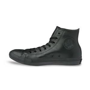 コンバース レザー オールスター ハイカット CONVERSE LEA  ALL STAR HI  BKM ブラックモノクローム メンズ レディース スニーカー|suzuchu-footwear