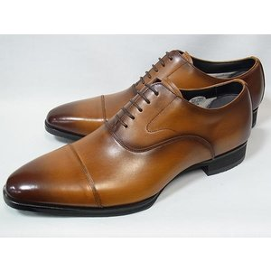 マドラス 正規品 モデロ ストレートチップ madras MODELLO DM8001 LBR ライトブラウン メンズ ビジネスシューズ 防水 紳士靴|suzuchu-footwear