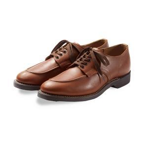 レッドウィング シューズ 1930s Sport Oxford スポーツ オックスフォード REDWING 8071 Cigar Retan シガー リタン フラットボックス|suzuchu-footwear