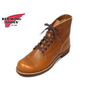 レッドウィング アイアンレンジ マンソン ブーツ REDWING 8011 IRON RANGE MUNSON White Ash Sellter ホワイトアッシュセトラー|suzuchu-footwear
