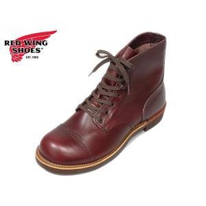 レッドウィング アイアンレンジ マンソン ブーツ REDWING 8012 IRON RANGE MUNSON Burgundy Sellter バーガンディー セトラー|suzuchu-footwear