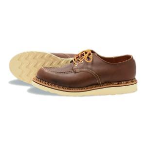 レッドウィング ブーツ ワーク オックスフォード REDWING 8109 Work oxford Mahogany Oro-iginal  マホガニー・オロイジナル|suzuchu-footwear
