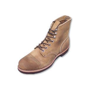 レッドウィング アイアンレンジ ブーツ REDWING 8113 IRON RANGE BOOTS Hawthorne Muleskinner Roughout ラフアウト|suzuchu-footwear