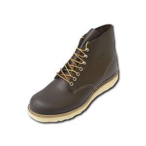 レッドウィング ブーツ 8134 REDWING 8134 CLASSIC Round Toe CHOCOLATE チョコレート クローム|suzuchu-footwear