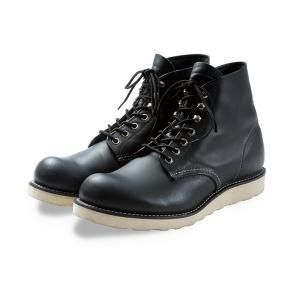 レッドウィング ブーツ 8165 REDWING 8165 CLASSIC Round Toe BLACK ブラック|suzuchu-footwear