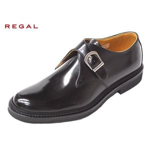 リーガル 靴 メンズ REGAL JU16 AG BLK ブラック モンクストラップ セール 紳士靴|suzuchu-footwear