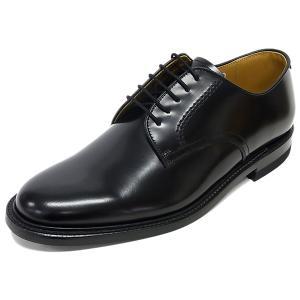 リーガル 正規品  REGAL 2504 NA BLK ブラック プレーントゥ 紳士靴|suzuchu-footwear