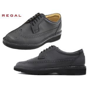 リーガル リーガルウォーカー REGAL WALKER  605W AH1 BLK ブラック ウィングチップ メンズ ビジネス カジュアル ウォーキング セール|suzuchu-footwear