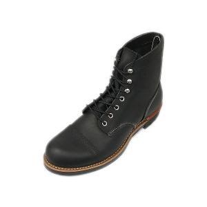 レッドウィング アイアンレンジ REDWING 8114 IRON RANGE BOOTS BLACK ブラック|suzuchu-footwear