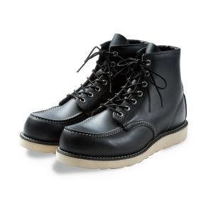 レッドウィング ブーツ 8179 REDWING 8179 CLASSIC Moc Toe Black Chrome ブラッククローム|suzuchu-footwear