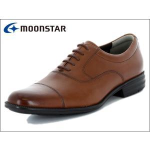 ムーンスター バランスワークス MOONSTAR BALANCE WORKS SPH4601 BR ブラウン  ストレートチップ メンズ ビジネスシューズ|suzuchu-footwear