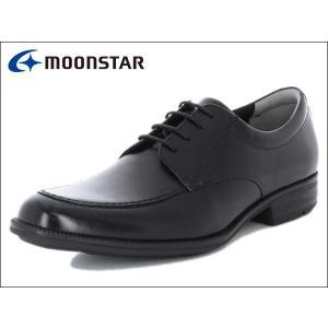 ムーンスター バランスワークス MOONSTAR BALANCE WORKS SPH4603 BLK ブラック Uチップ メンズ ビジネスシューズ|suzuchu-footwear