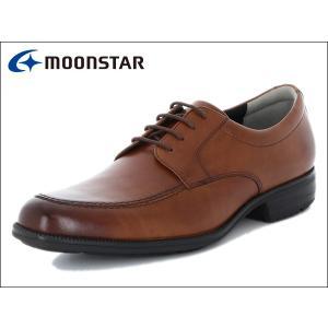 ムーンスター バランスワークス MOONSTAR BALANCE WORKS SPH4603 BR ブラウン Uチップ メンズ ビジネスシューズ|suzuchu-footwear
