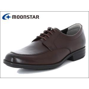 ムーンスター バランスワークス MOONSTAR BALANCE WORKS SPH4603 DBR ダークブラウン Uチップ メンズ ビジネスシューズ|suzuchu-footwear