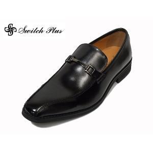 本革 ビジネスシューズ Switch Plus 8300 BLK ブラック ビット スイッチプラス セール 紳士靴|suzuchu-footwear