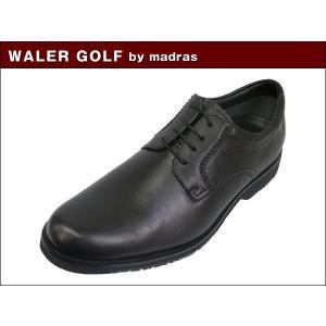マドラス ウォーカーゴルフ WALKER GOLF by madras  WG200 BLK ブラック ビジネス ウォーキング シューズ|suzuchu-footwear
