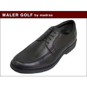 マドラス ウォーカーゴルフ WALKER GOLF by madras WG201 BLK ブラック ビジネス ウォーキング シューズ|suzuchu-footwear