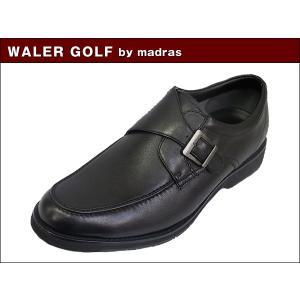 マドラス ウォーカーゴルフ WALKER GOLF by madras WG202 BLK ブラック ビジネス ウォーキング シューズ|suzuchu-footwear