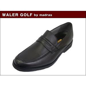マドラス ウォーカーゴルフ WALKER GOLF by madras WG203 BLK ブラック ビジネス ウォーキング シューズ|suzuchu-footwear
