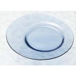 お皿 3枚組 手造り オービットカフェトレー ブルー