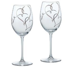 ワイングラス ペアワイングラスセット ハート柄|suzuhiro-2