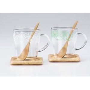 マグカップ 耐熱マグカップペアセット エレガントギフト コーヒータイム   |suzuhiro-2